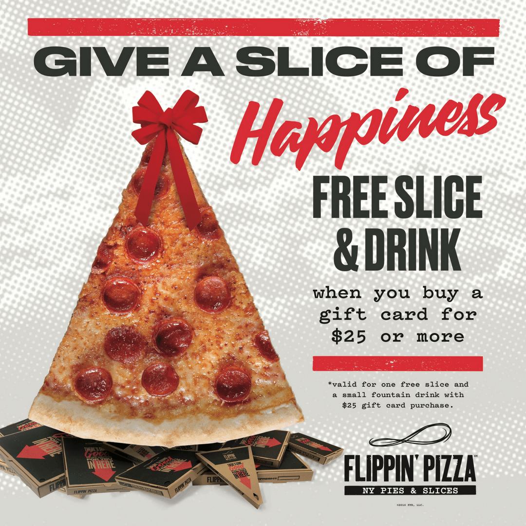 reasons why a flippin pizza gift card is a win win this holiday season - Holiday Gift Card Promotions 2017
